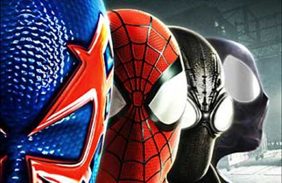 Четыре паука из Spider-Man Shattered Dimensions