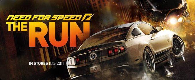 В Need for Speed The Run можно будеть бегать по городу