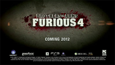 Ubisoft сообщило о проекте Brothers in Arms Furious 4