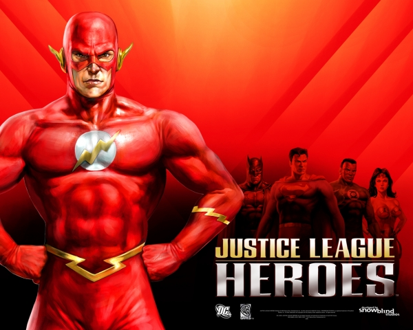 Justice League Heroes)