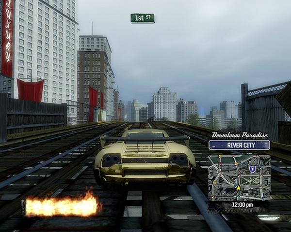 Burnout Paradise скриншоты