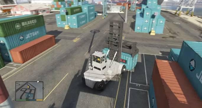 Тревор планирует ограбить один из кораблей в порту
