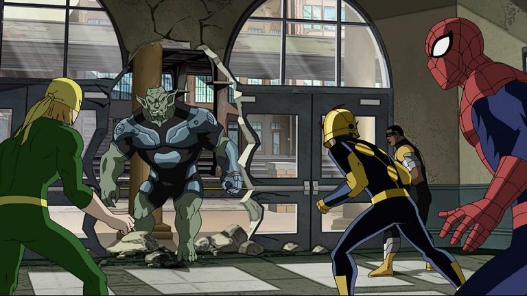 Прохождение игры Spiderman The Movie, эпизод 10