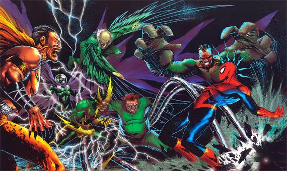Прохождение игры Spiderman The Movie, эпизод 9